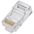 CONECTOR REDE RJ45 CAT5E HOOPSON 25 MICRONS PACK C/25U SJT-001