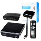 CONVERSOR DIGITAL EXBOM P TV C/ GRAVADOR + ANTENA WIFI P/ YOUTUBE CDTV-10